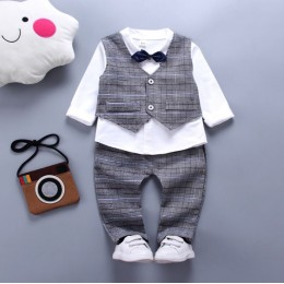 Boy Suit Vest 3 Piece Set