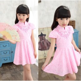[CNY2019 Pre-Order] Kids Girl Jing Xiu Cheongsam Dress